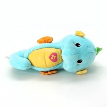 Usínáček Fisher-Price Mořský koník modrý
