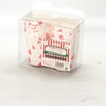 Papírové košíčky Givi Italia se stromečky
