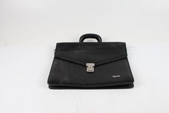 Kožená taška Bright černá