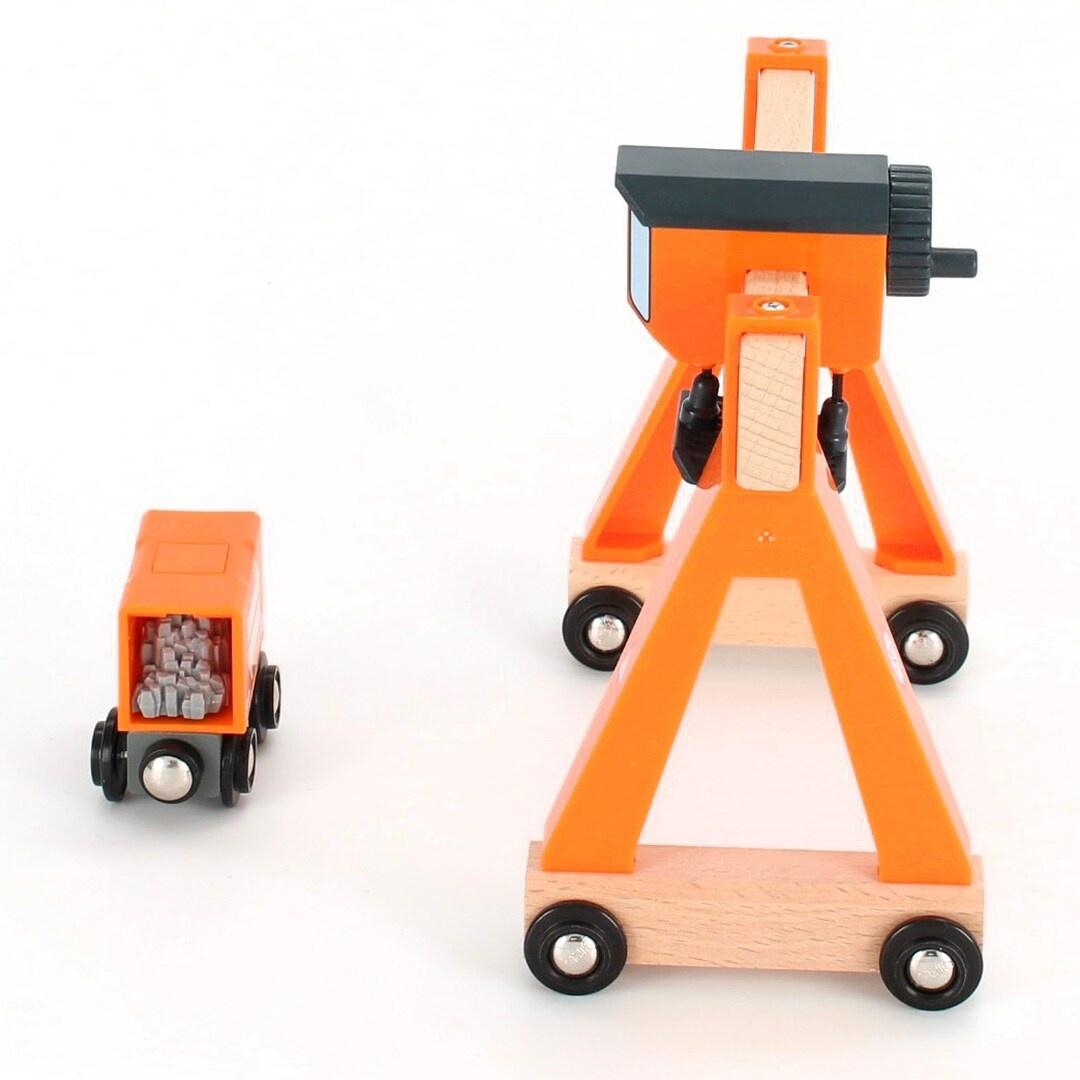 Dětský jeřáb Brio Gantry Crane 33732