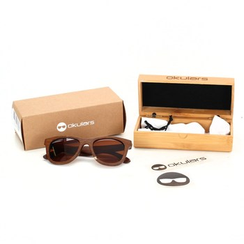 Sluneční brýle Okulars dřevěné