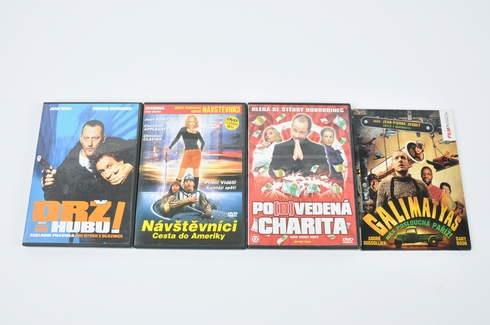 4x DVD - Drž hubu, Galimatyáš a další