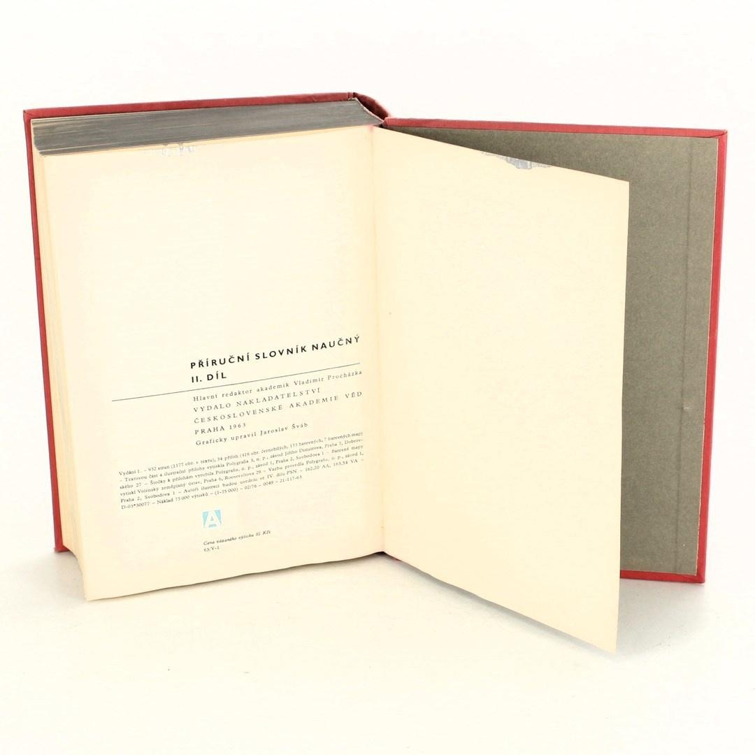 Kniha Příruční slovník naučný II. díl