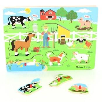 Dřevěné puzzle Mellisa & Doug 10738 ES