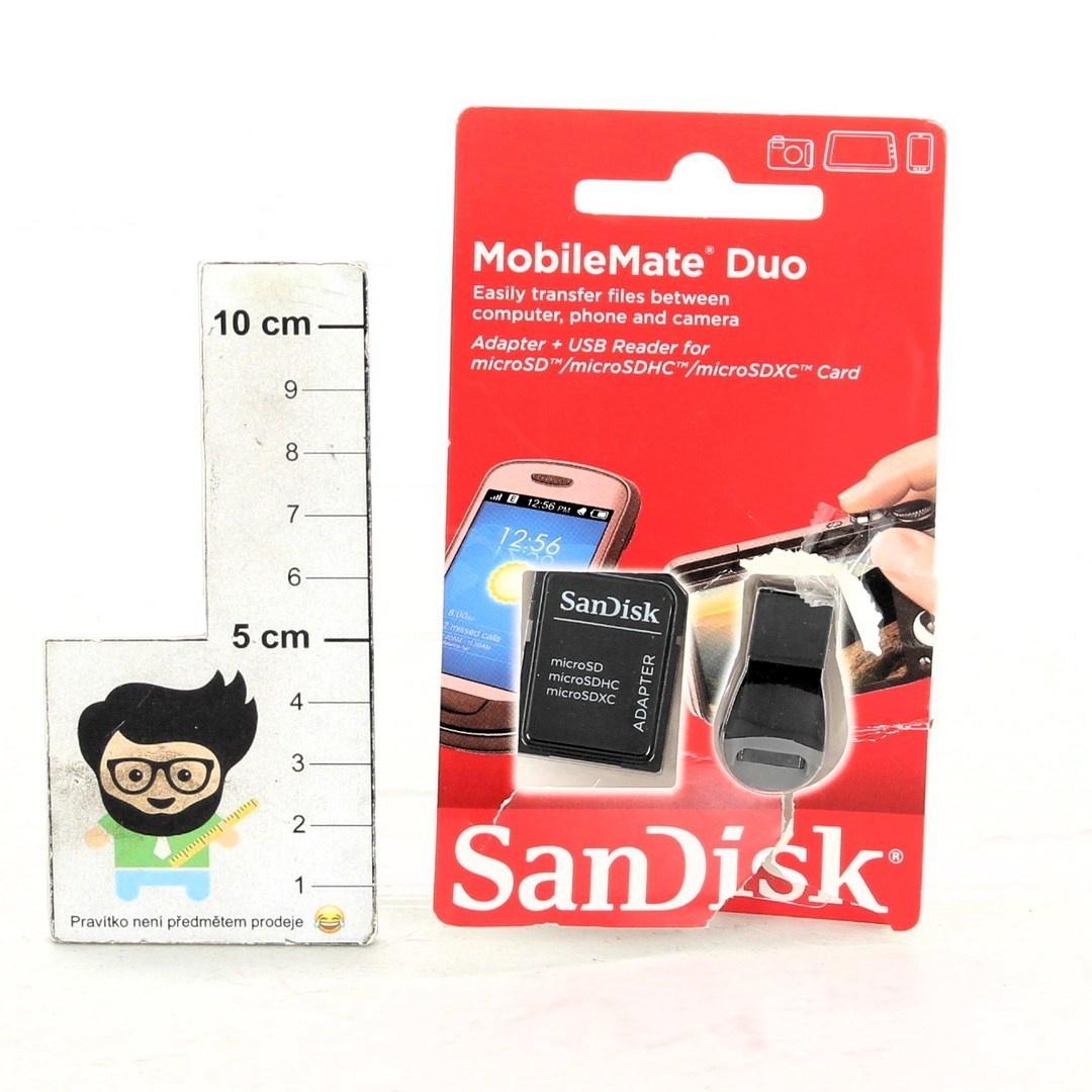 Adaptér + USB čtečka Sandisk SDDRK-121-B35