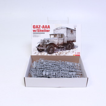 Model auta Mini Art Gaz-AAA w/box body