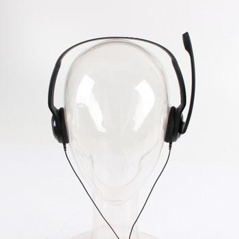 Sluchátka s mikrofonem Sennheiser PC 5 Chat