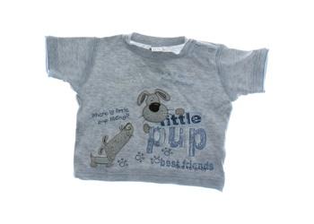 Kojenecké triko Next šedé Little pup