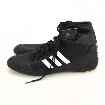 Kotníkové tenisky Adidas semišové