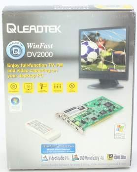 Televizní a FM karta Leadtek Winfast DV2000