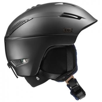 Lyžařská helma Salomon Icon2 C.Air Black