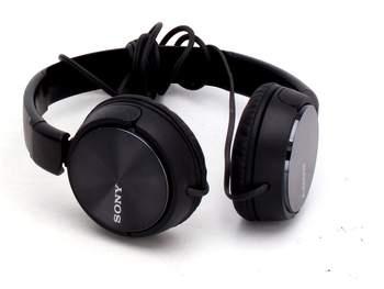 Náhlavní sluchátka Sony MDR-ZX110 černá