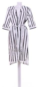 Dámské šaty bílé s proužky Selected
