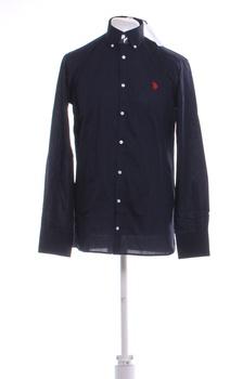 Pánská košile U.S. Polo Assn. tm. modrá M