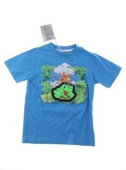 Chlapecké tričko Geox Respira modré
