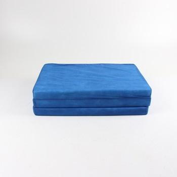 Rozkládací karimatka 120 x 60 x 5 modrá