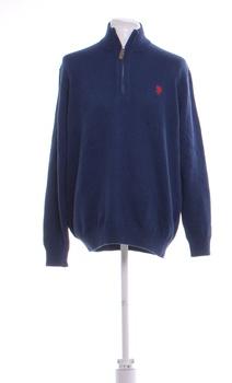 Pánský svetr s límečkem U.S. Polo ASSN XL