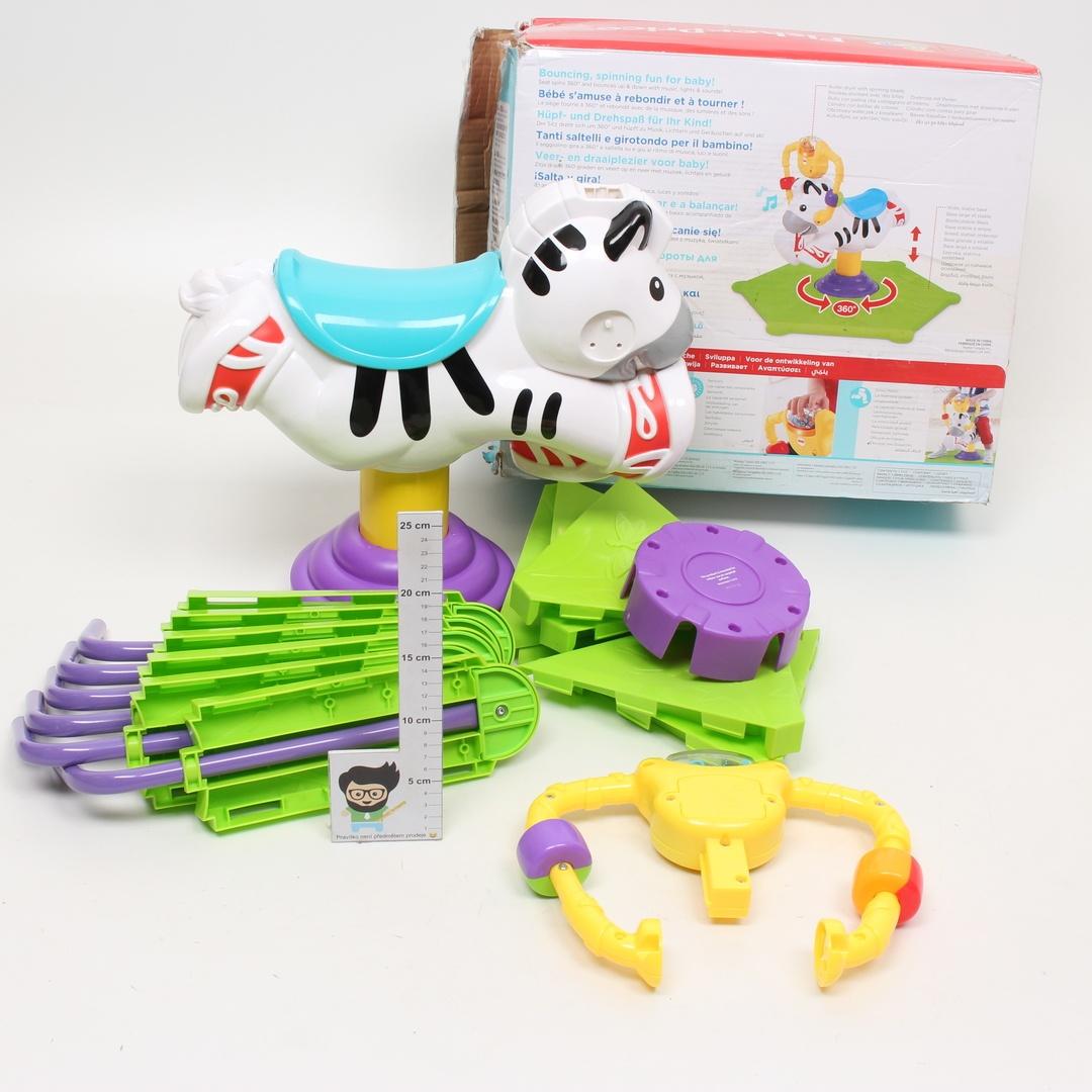 Hopsadlo Fisher-Price zebra