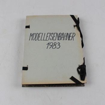 Časopis Modelleisenbahner 1983