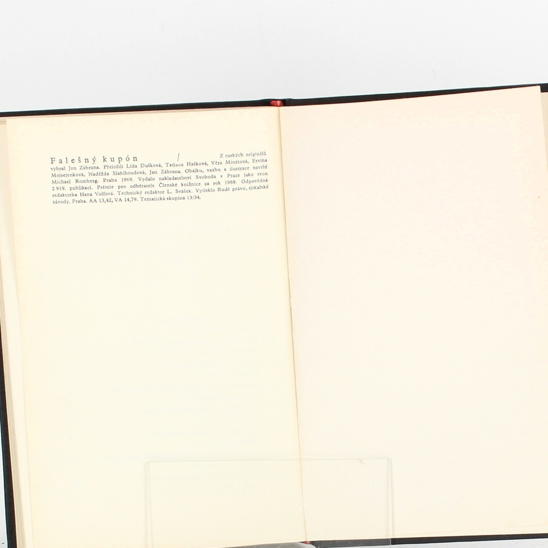 Kniha Falešný kupón (L. N. Tolstoj)