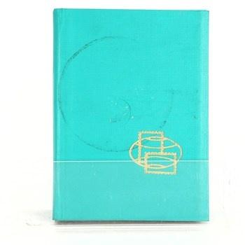 Album se známkami modré - 75 ks známek