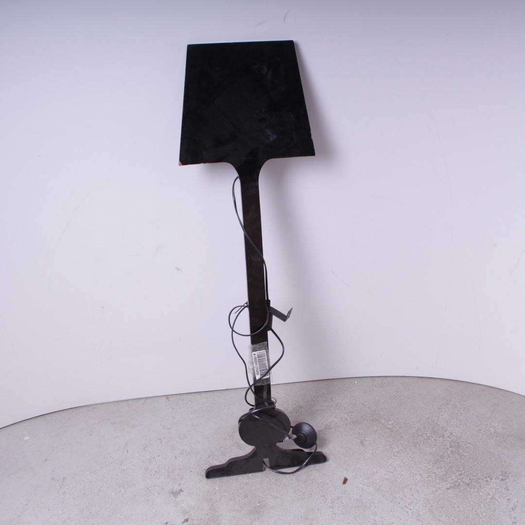 Svítidlo ve tvaru lopaty černé