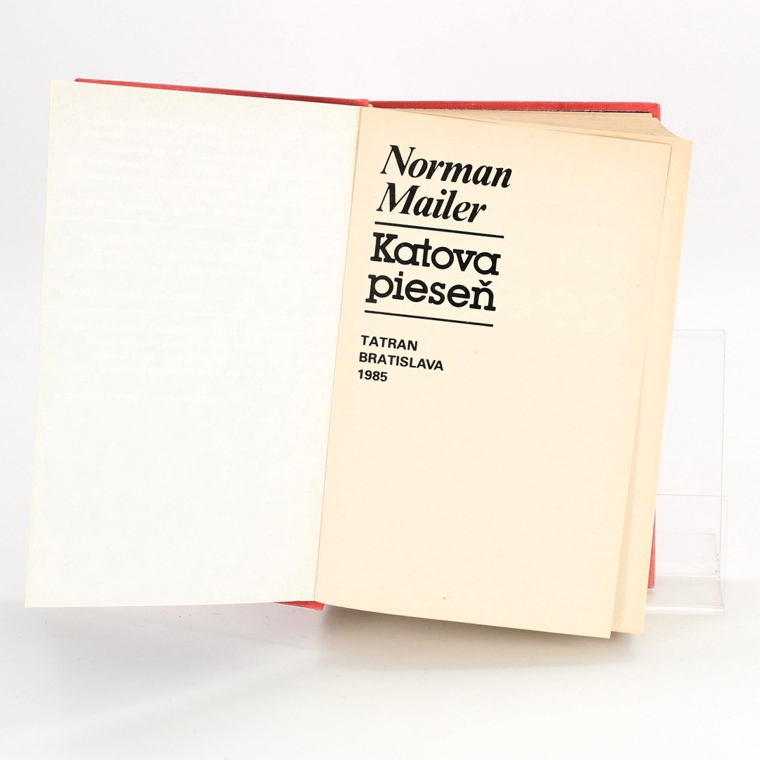 Kniha Katova pieseň