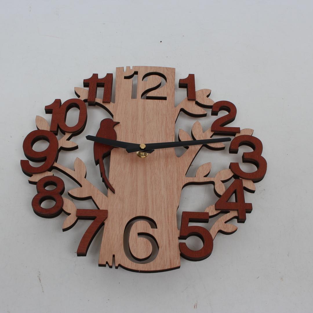Dřevěné hodiny Umi