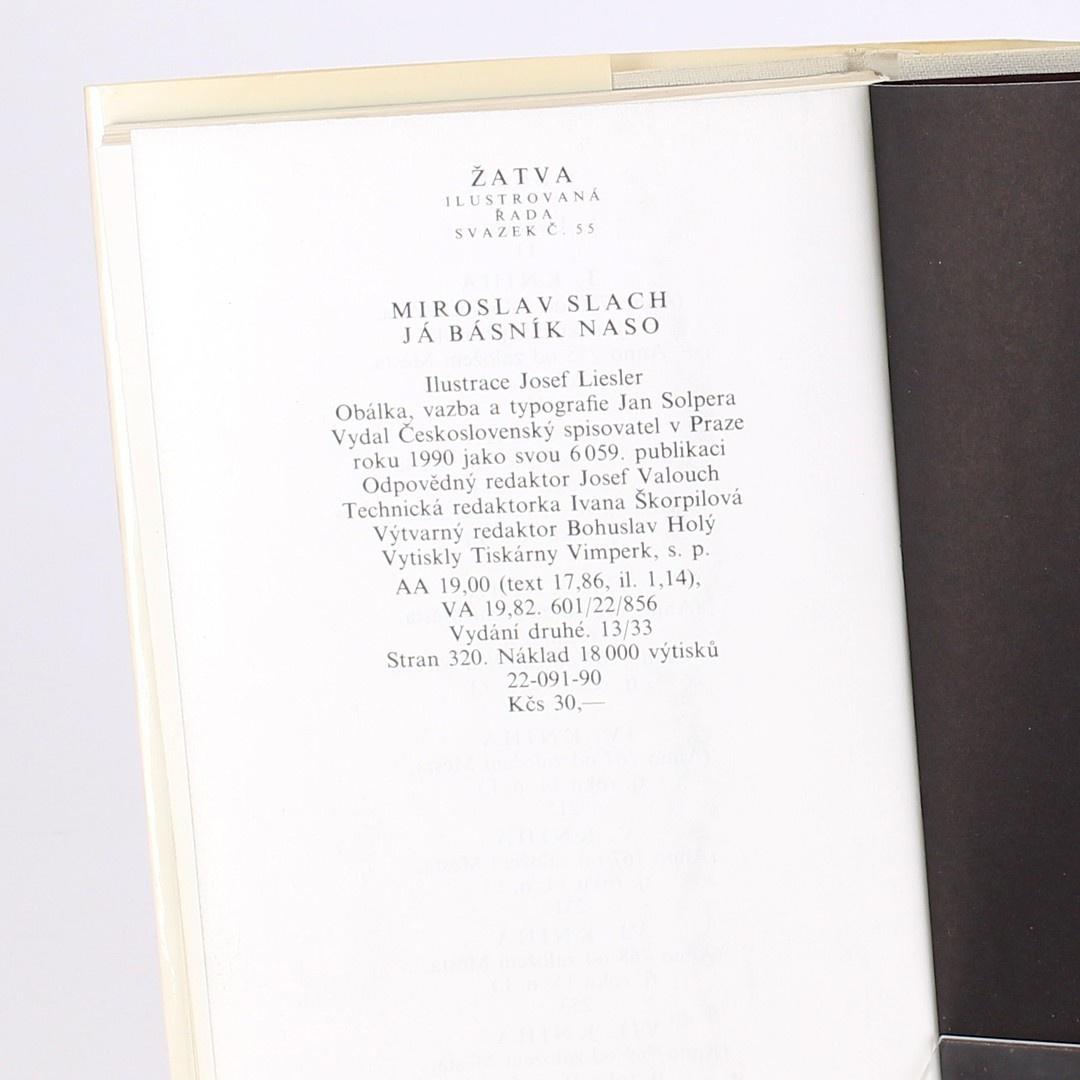 Kniha Miroslav Slach: Já básník Naso
