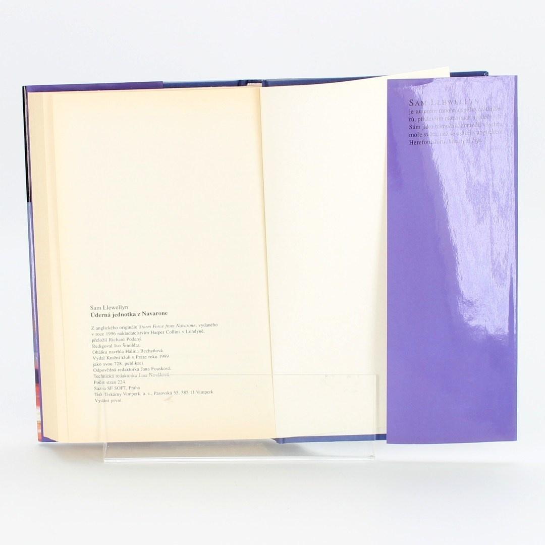 Kniha Úderná jednotka z Navaron