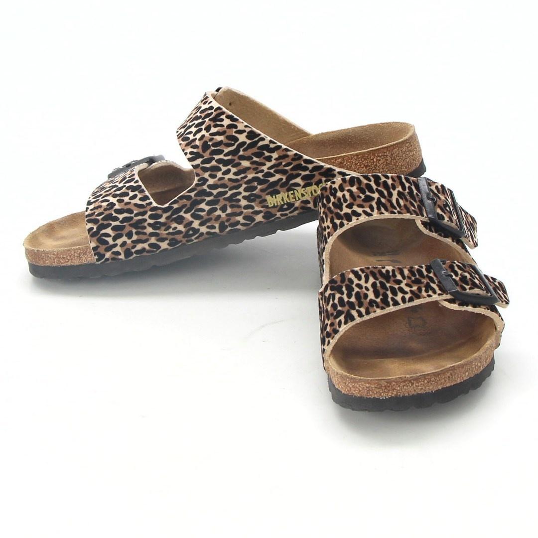 Dámské pantofle Birkenstock Arizona Leopard