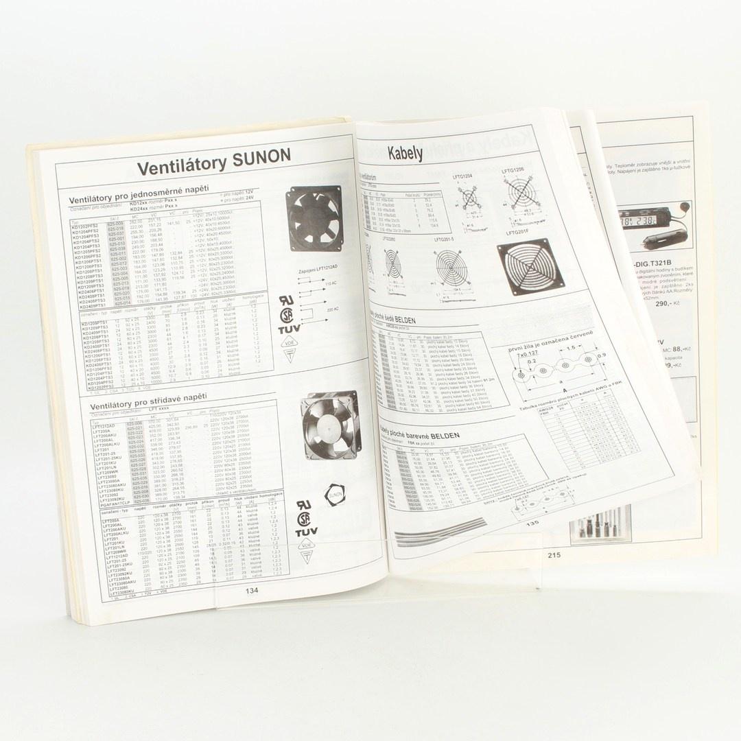 Naučná kniha Součástky pro elektroniku