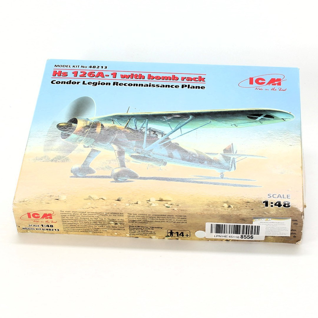 Model letounu ICM 48213 Hs126A-1