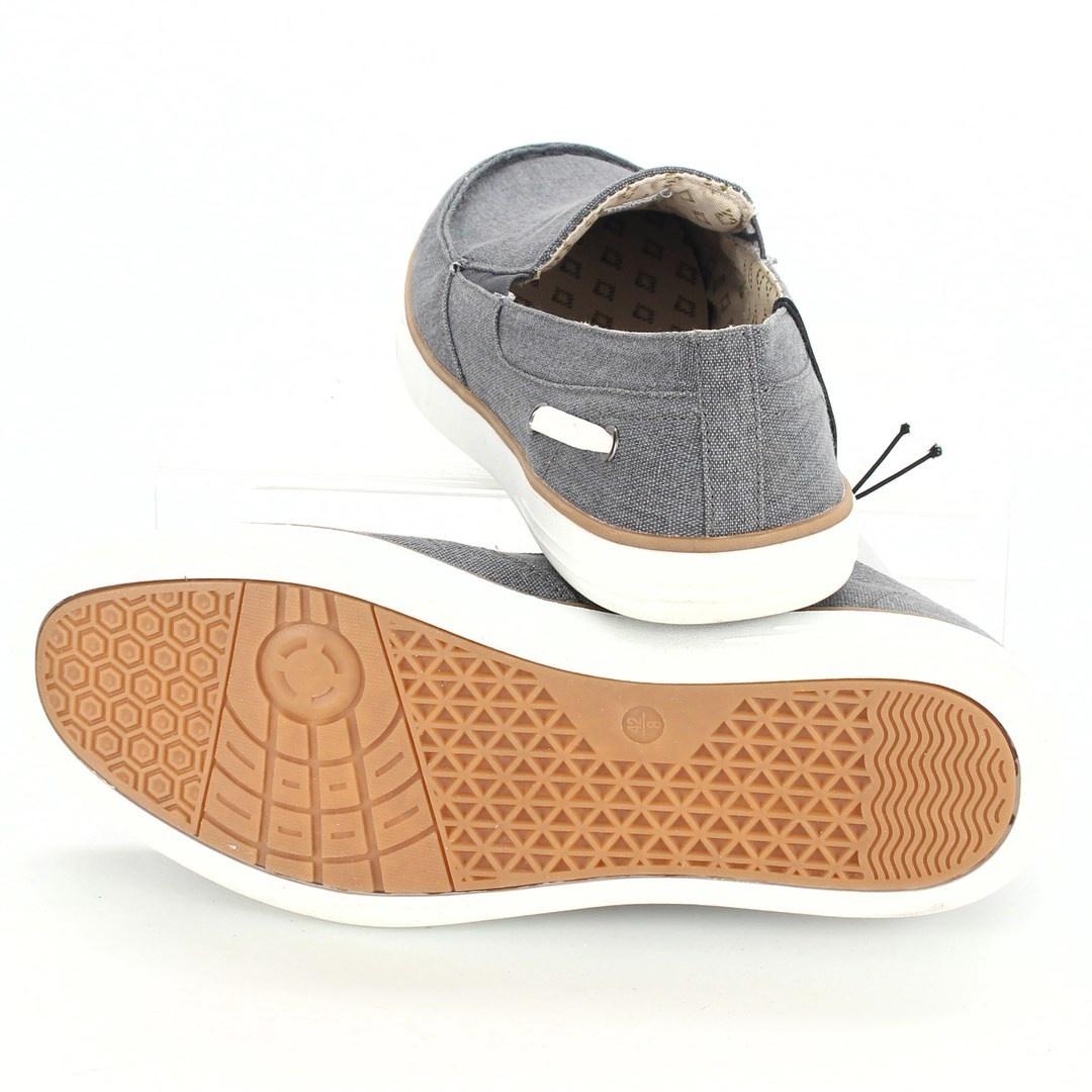 Pánské látkové boty Livergy šedé