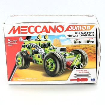 Stavebnice Meccano 6055133 Pull-Back Buggy