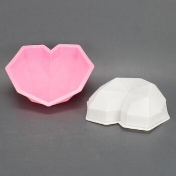 Forma na čokoládu Tadae 3D Diamond Heart