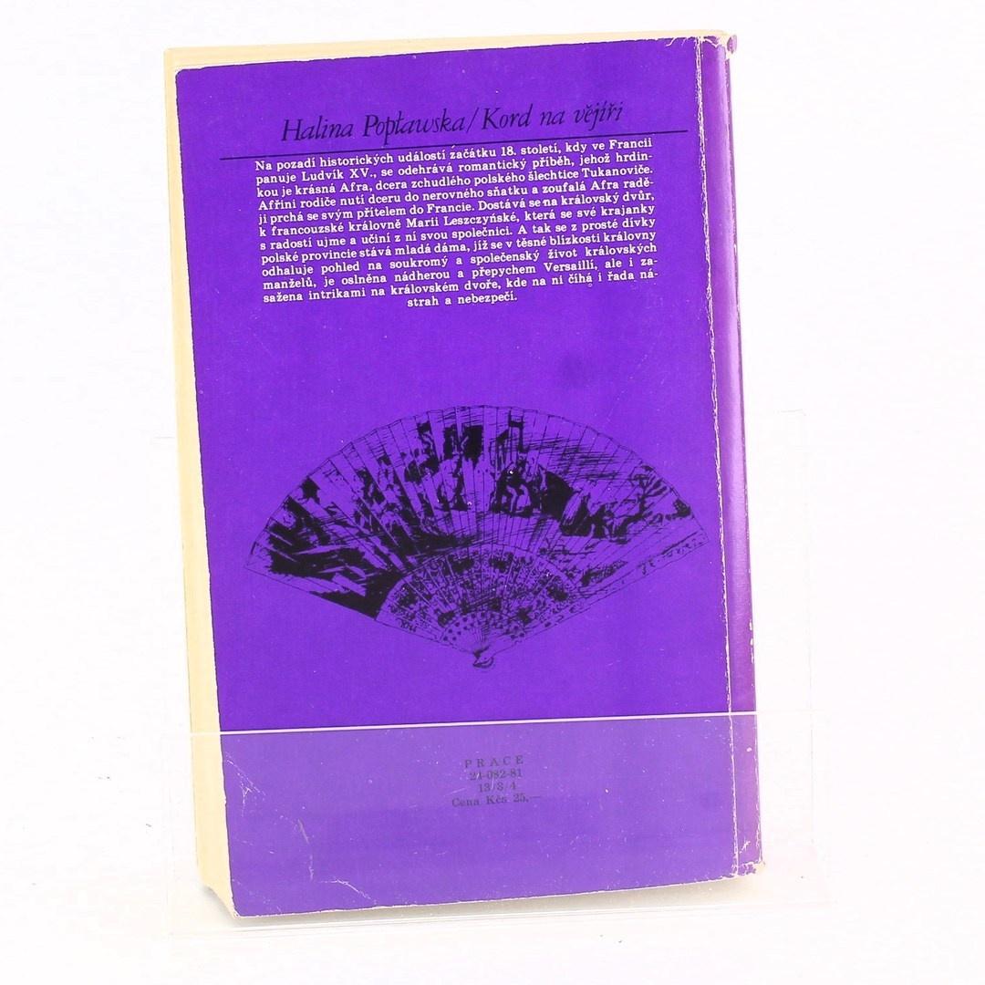 Kniha Kord na vějíři
