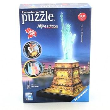 3D puzzle Ravensburger 12596 Socha svobody