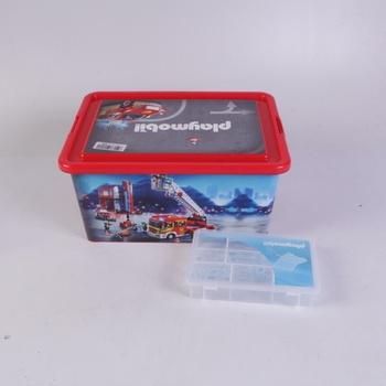 Sada boxů Playmobil hasiči 2 ks