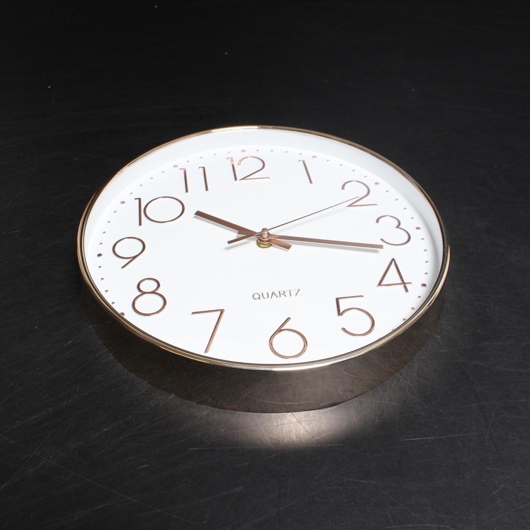 Nástěnné hodiny Jeteven zlaté