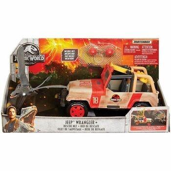 Auto Jeep Wrangler Matchbox Jurassic World