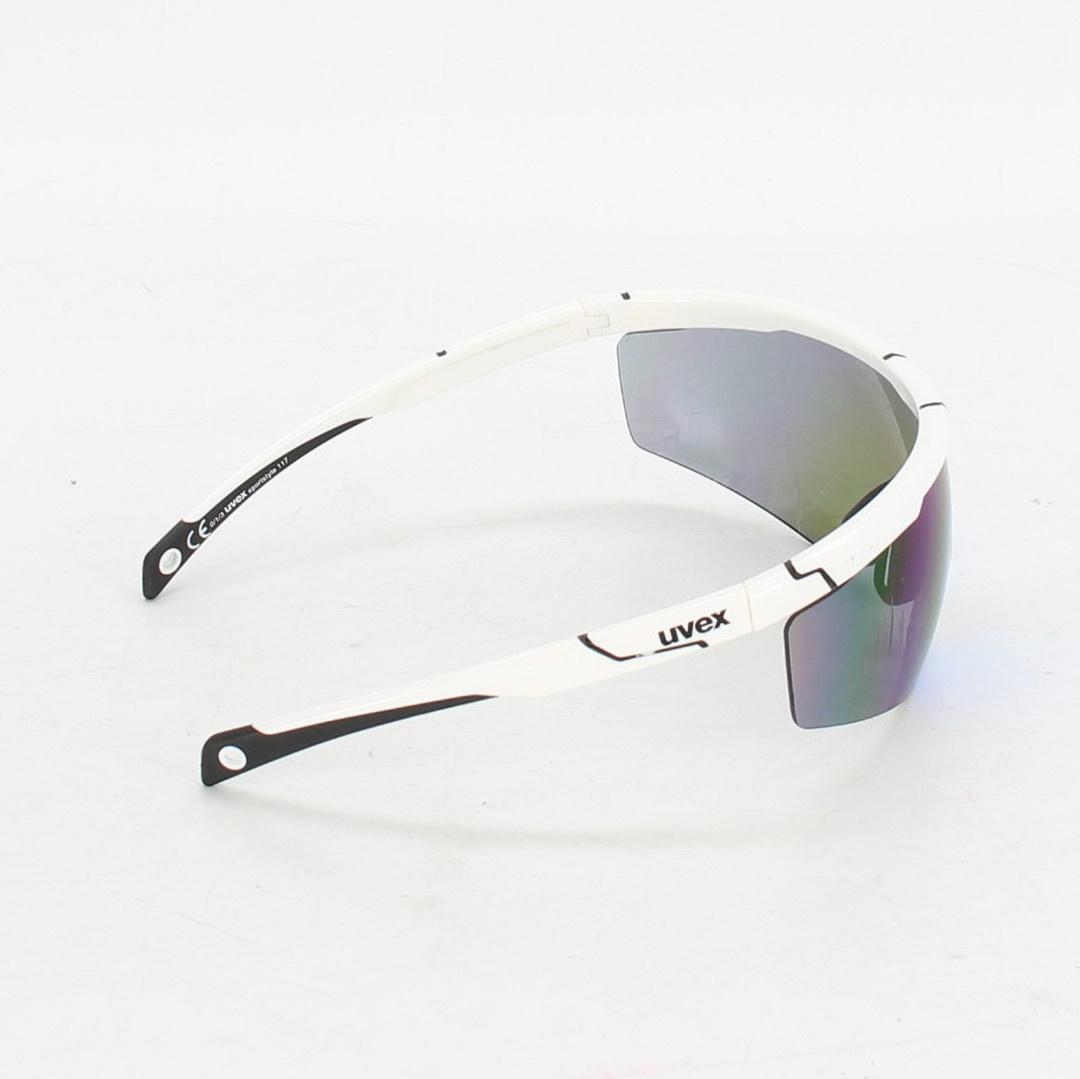 Cyklistické brýle Uvex bílé