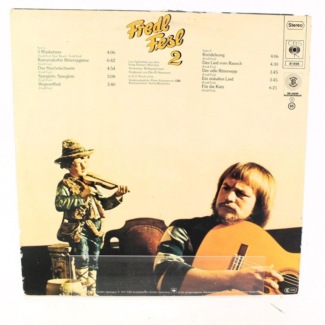 LP deska Fredl Fesl 2 Jodler
