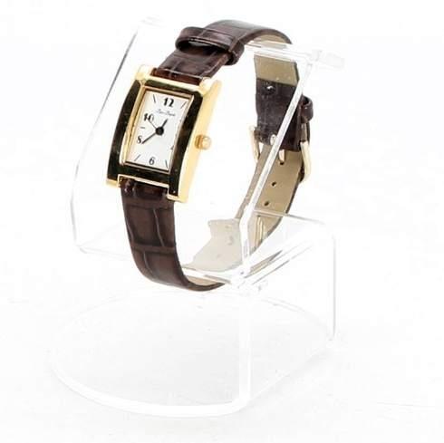 Dámské hodinky Bijou Brigitte hranaté hnědé - bazar  eb6d03349b