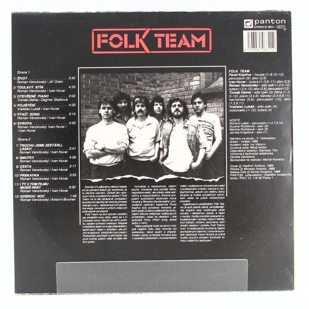 Gramofonová deska Folk Team