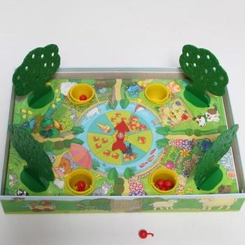 Dětská stolní hra Ravensburger  jablka 22236