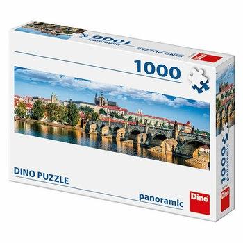 Puzzle 1000 DINO panoramatické Hradčany