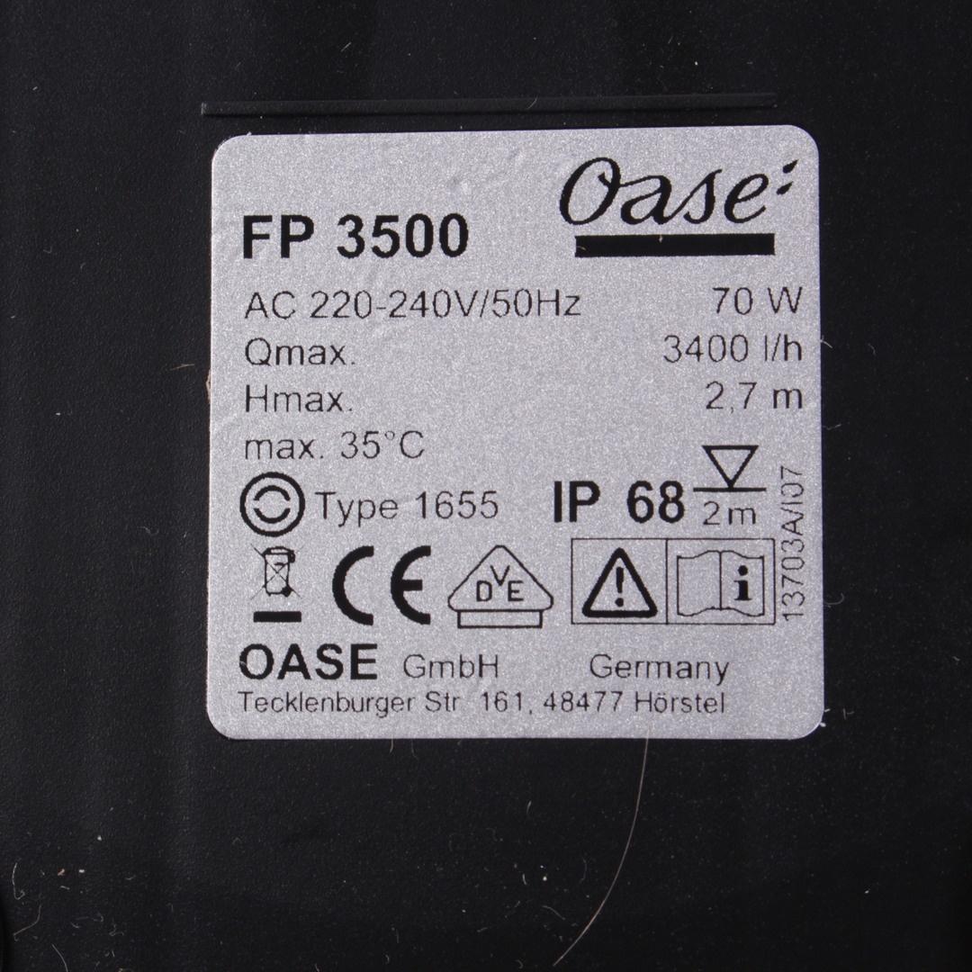 Jezírkový filtr Oase FP 3500