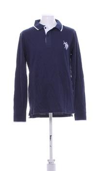 Pánské triko U.S. Polo ASSN modré