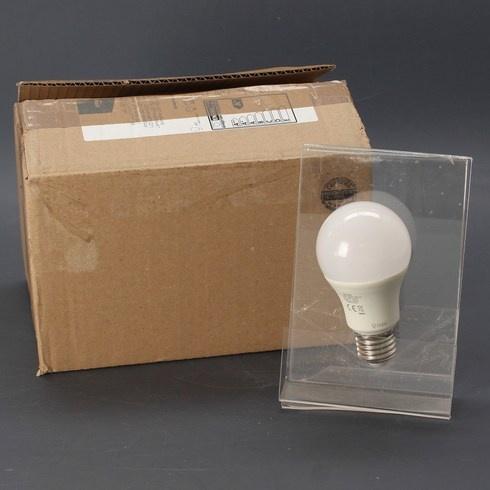 Žárovky AmazonBasics E27 9 W 6 ks teplé